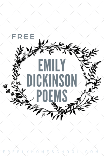 Free Emily Dickinson Poems